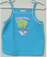 Girls Toddler Kid Connection Aqua Tank Top Size 3T - $4.00