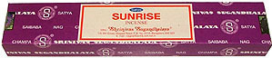 Sunrise Nag Champa Incense Sticks by Satya Sai Baba 40 gram box