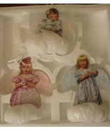 Heavens Little Angels 3 Christmas Angel Cherub ... - $49.99