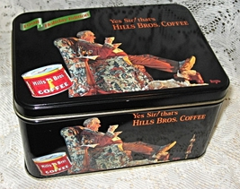 Hills Bros Coffee Tin - Limited Holiday Edition... - $10.00