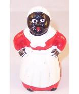 Small Cast Iron Black Americana Mini Mammy Figu... - $16.99