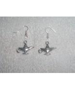 Magic Genie Lamp Wishes Pair of Earrings Jewelr... - $4.95