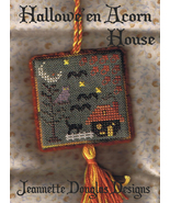 Halloween Acorn House cross stitch kit Jeanette... - $7.20