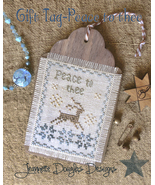 Peace To Thee Gift Tag cross stitch chart Jeane... - $5.40