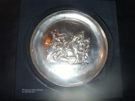Salvador Dali Limited Edition Silver Plate 1972 - $225.00