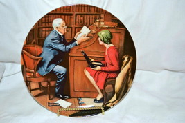 Norman Rockwell Knowles Collector Plate 1986 Th... - $19.95