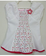 Girls Toddler Sweet Heart White Short Sleeve To... - $4.00