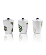 Intrada Vivere Erbe Set OF 3 Canisters Made In ... - $155.00