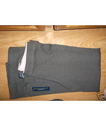 Women NICK & SARAH SPORT STRETCH PANTS Charcoal Gray Large L Soft Jogging NW - $9.99