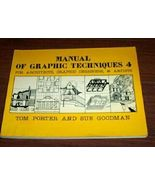 Book Manual of Graphic Techniques 4 Architectur... - $10.00