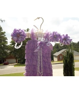 BABY GIRL ORCHID/LAVENDER LACY PETTI ROMPER PHO... - $18.00