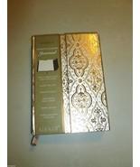 SICURA GOLD FOIL & SILVER MOROCCAN PRINT MAGNET... - $13.99