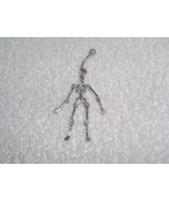 Skeleton Moveable Body Parts Red Eyes Navel Bel... - $6.95