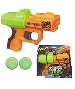 NERF Zombie Strike Ricochet Disc Blaster Toy - $8.79