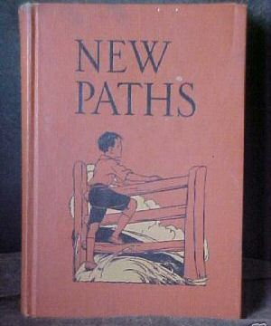 Old Book Text Book New Paths 5th Reader 1934