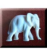 Elephant, Dignity- Wisdom- Symbol Carved Figuri... - $49.25