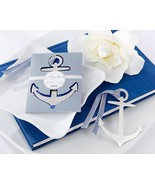 1 Anchor Bookmark Wedding Favor Reception Gift ... - $2.98