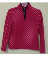 Girls Old Navy Pink with White Dots Navy Blue T... - $7.00