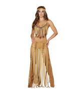 Sexy Roma Cherokee Hottie Indian Fringe Top Pan... - $85.00