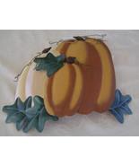 Pumpkins Form A Metal  Yard Stake To Decorate Y... - $13.00