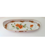Vintage Nippon Hand painted oval serving dish d... - $24.99