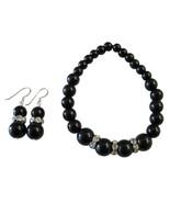 Handmade Stretchable Black Pearl Bracelet Match... - $14.03