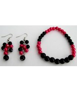 Stunning Stretchable Bracelet Grape Earrings Ma... - $11.03