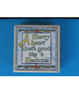 A Merry Heart Doeth Good Rubber Stamp by Stampa... - $3.99
