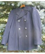 Mens 38R 1960s Navy Peacoat Atlantic City Coat ... - $99.00