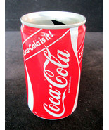 1988 Vintage German Coca Cola is it! Coke Tin C... - $7.91