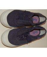 Girl's Navy Blue Distressed Keds Size 3 - $9.00