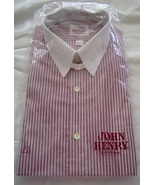 Men's John Henry Fitted Long Sleeve Shirt Size ... - $14.95