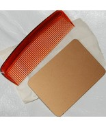 Vintage 70's Hand Mirror and Comb Set for Purse... - $4.00