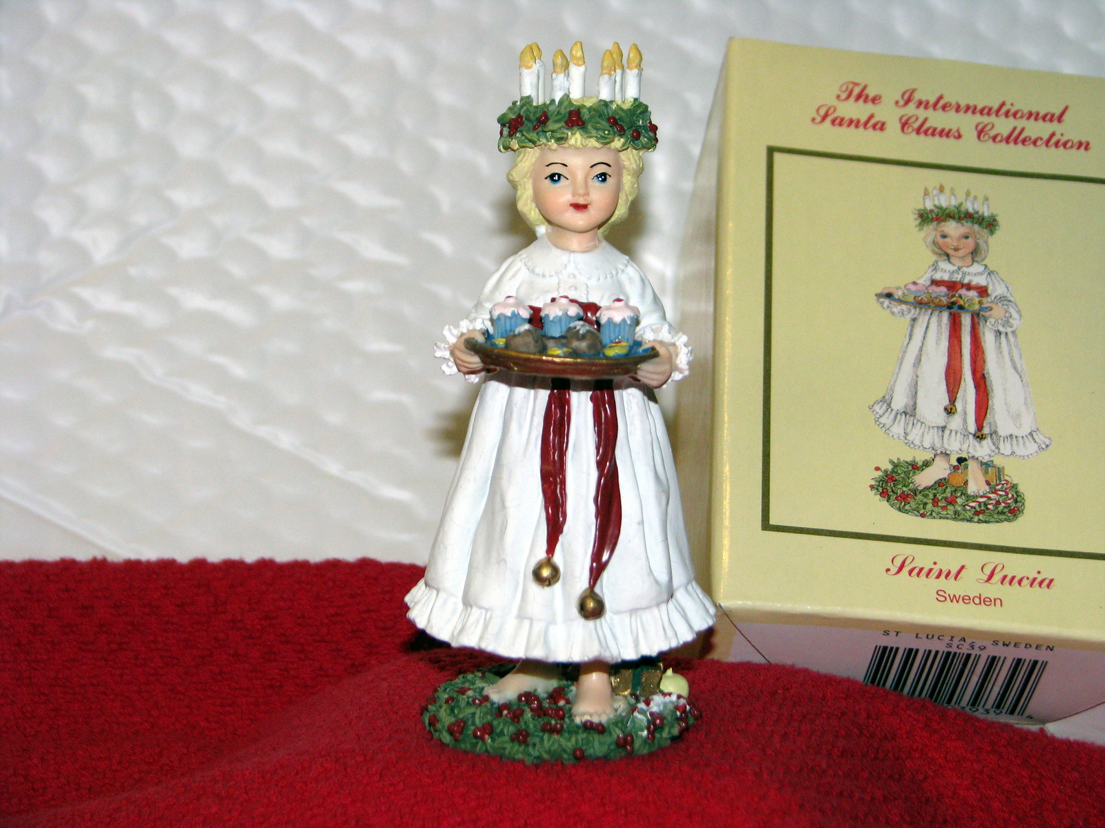 International santa claus collection lucia christmas