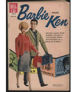 Barbie And Ken Comic Book # 2 ~ 1962 ~ By Dell ... - $135.00