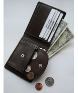New Soft Genuine Leather Mens BIFOLD Wallet wit... - $21.99