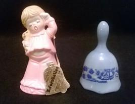 Vintage Jasco 1979 Adorabelles Porcelain Bell G... - $11.99