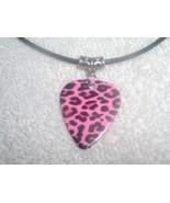 Cute Pink Leopard Wild Animal Print Love Printe... - $6.95