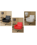 Ave Six Nova Eco Leather Armchair Modern Living... - $239.99