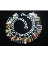WIZARD OF OZ Charm Bracelet 17 Unforgettable Ph... - $23.99