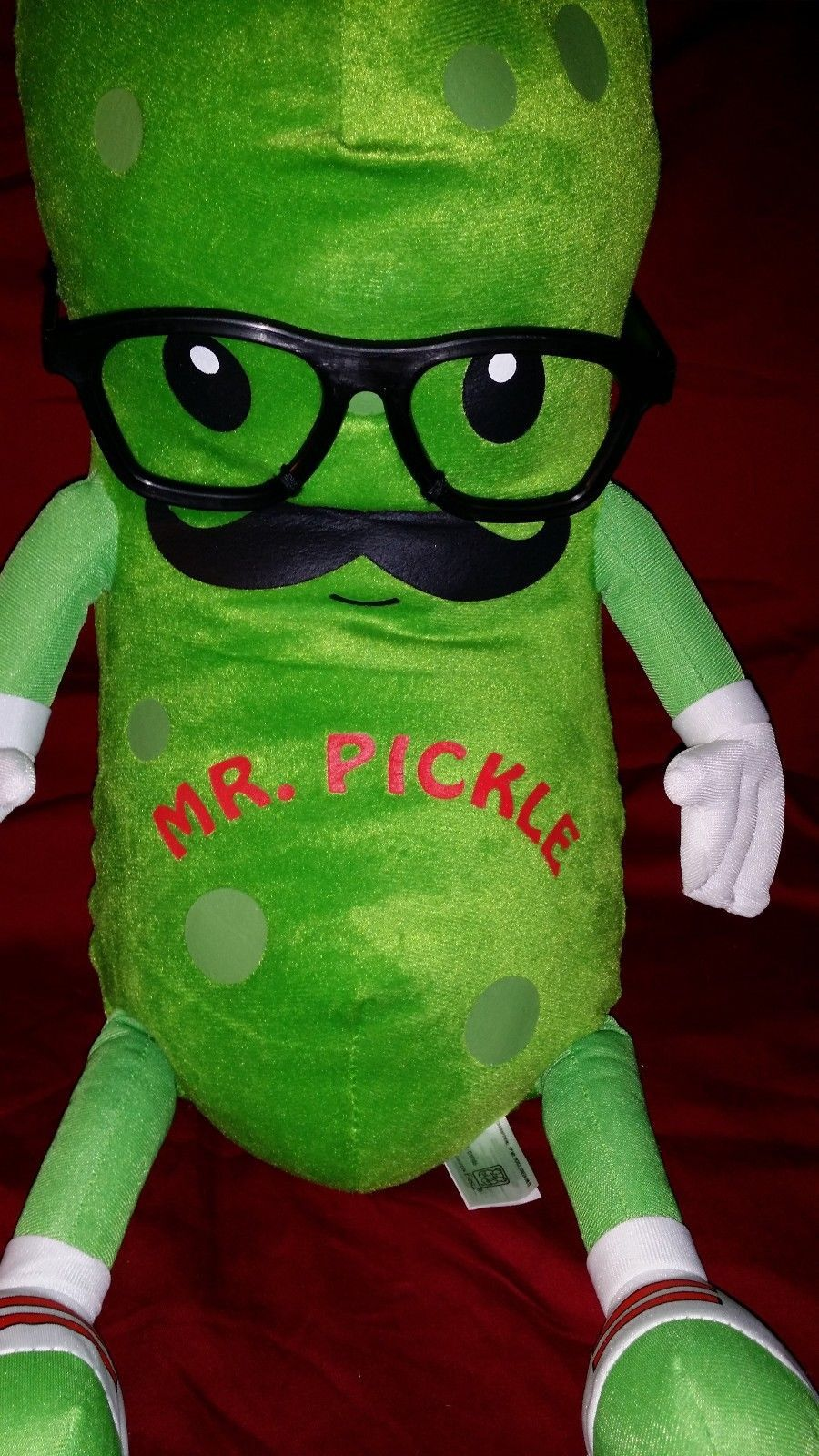 Large Fiesta 17 Quot Mr Pickle Green Only Stuffed Animal