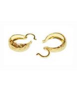 Little Girl's 18K Skillus Gold Hoop Earrings Ju... - $16.99
