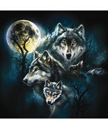 Wolf Family Collage 500 piece Jigsaw Puzzle Sun... - $10.80