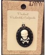 Gothic Halloween Skull & Crossbones Pirate maca... - $8.99