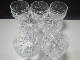 7 CRYSTAL WINES~~~EXCEPTIONAL~~~Waterford look-... - $59.95