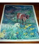 Vintage Children's Print The Duck Family 1962 - $10.00