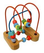 Wood Bead Maze Garanimals Wooden Wire Roller Co... - $10.90
