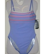 New La Blanca Swim Suit  One Piece Lilac Size 10 - $33.00