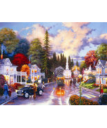 Simpler Times 1000+ Piece Jigsaw Puzzle Keith B... - $14.85