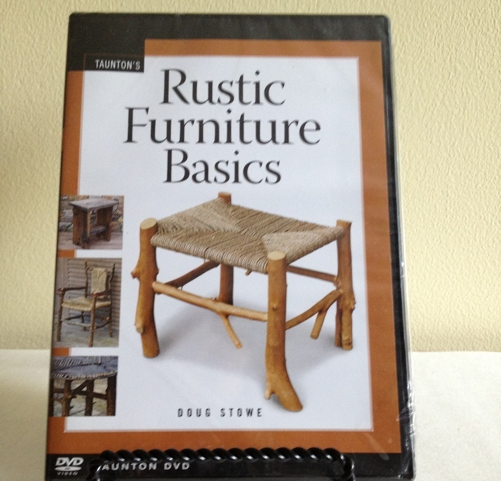 "NEW ""Rustic Furniture Basics"" DVD by Doug Stowe"
